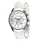 Men's Emporio Armani white bracelet watch - Product number 8821453