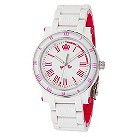 Juicy Couture ladies' white & pink bracelet watch - Product number 8821674