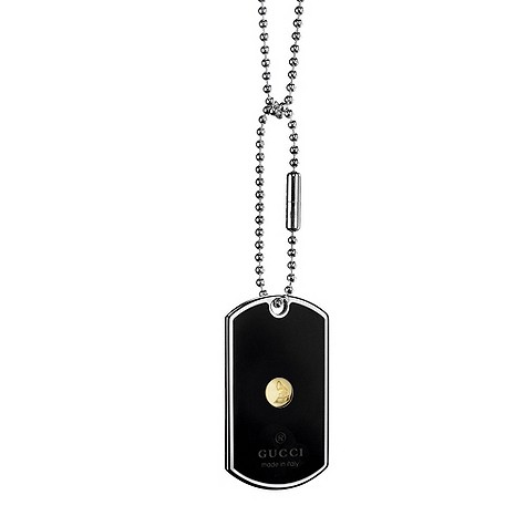 Gucci Dogtag necklace Grammy edition
