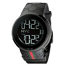 Gucci men's black PVD digital watch - Product number 8822298