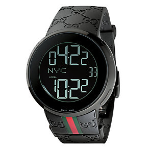 Gucci I-Gucci Men's Black PVD Digital Watch - Product number 8822298
