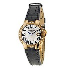 Raymond Weil rose gold plated & black strap watch - Product number 8827982