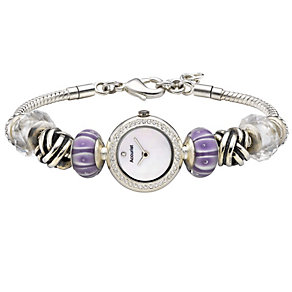 Charmed By Accurist Ladies' Charm Bracelet Watch - Product number 8831580