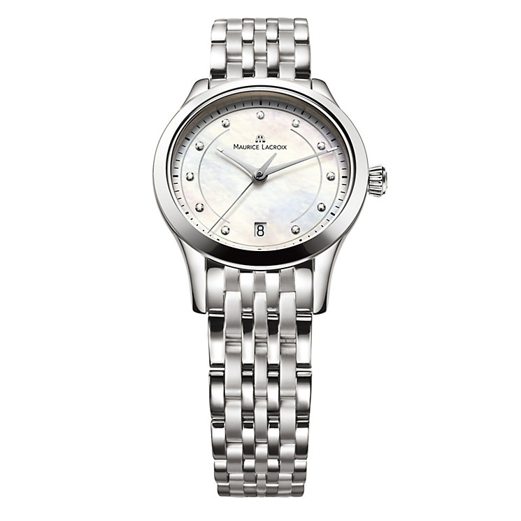 Maurice Lacroix ladies' mother of pearl dial watch - Product number 8834229