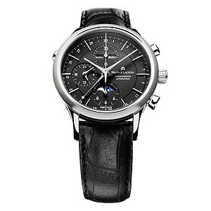 Maurice Lacroix men's black strap watch - Product number 8834296