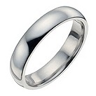 Palladium 4mm extra heavy court ring - Product number 8835292
