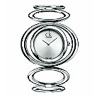Ladies' Calvin Klein Graceful stainless steel bangle watch - Product number 8836647