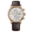 Hugo Boss men's brown leather strap watch - Product number 8836655