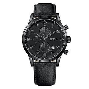Hugo Boss men's black strap watch - Product number 8836663