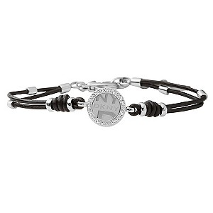 DKNY Black' Logo Leather Bracelet - Product number 8845999