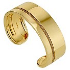 Amanda Wakeley silver & gold plated diamond small bangle - Product number 8846596