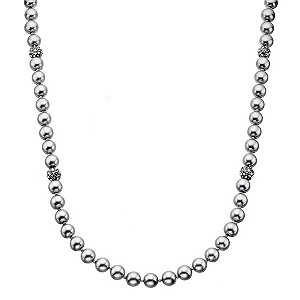 Fiorelli Simulated Pearl & Crystal Long Necklet - Product number 8848580