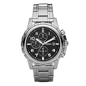 Fossil Dean Men's Black Chronograph Bracelet Watch - Product number 8849722
