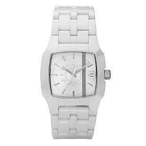 Men's Diesel White Ceramic Bracelet Watch - Product number 8852472