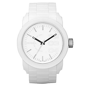Men's Diesel White Double Down S44 Bracelet Watch - Product number 8852502