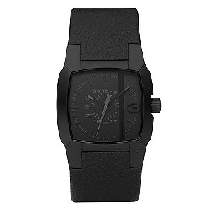 Men's Diesel Black Strap Watch - Product number 8852553