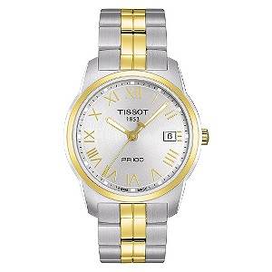 Tissot men's two tone bracelet watch - Product number 8854661