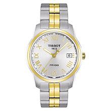 Tissot men's two tone bracelet watch - Product number 8854661
