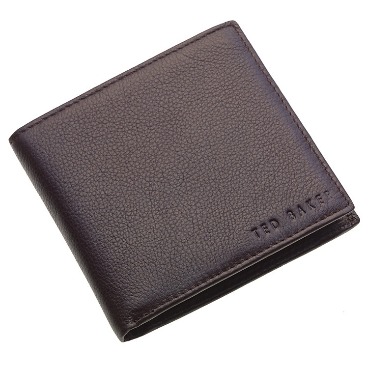 Ted Baker chocolate logo stud coin wallet - Product number 8856737
