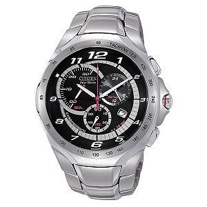 Citizen Eco-Drive Exclusive Black Dial Bracelet Watch