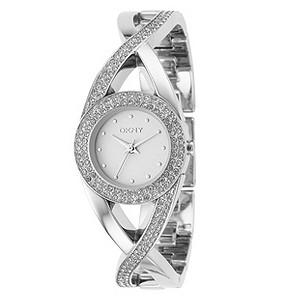 DKNY Stone Set Bracelet Watch