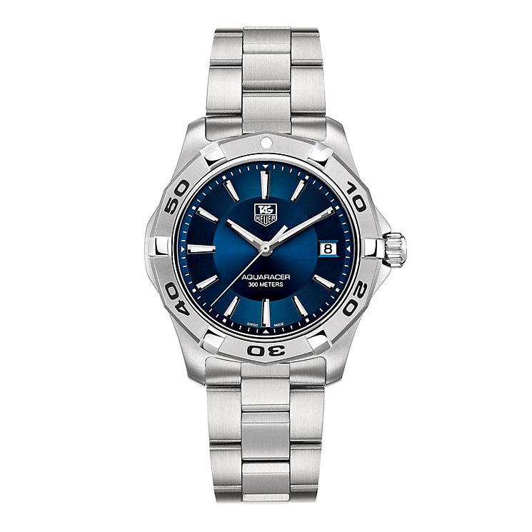 TAG Heuer Aquaracer men's blue dial bracelet watch - Product number 8866880