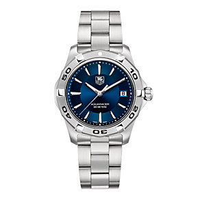 TAG Heuer Aquaracer men's blue dial bracelet watch - Product number 8866880