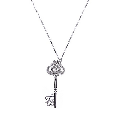 Ted Baker crystal key necklace