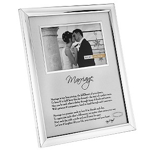 Plated Marriage Frame