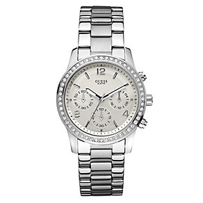 Ladies' Guess Stainless Steel Bracelet Watch - Product number 8878455