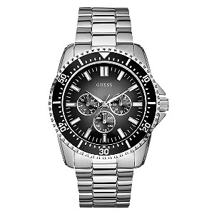 Men's Guess Stainless Steel Bracelet Watch - Product number 8878897