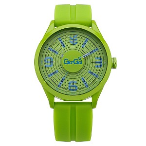 Gio-Goi Green Silicone Sports Watch