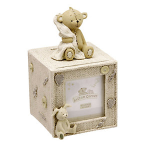 Button Corner Teddy Money Box - Product number 8887403