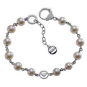Emporio Armani silver & pearl bracelet - Product number 8887950