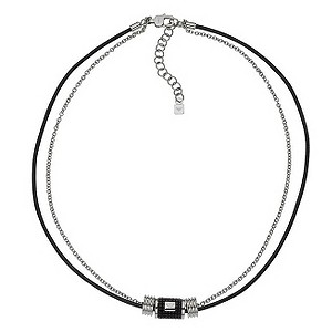 Emporio Armani men's barrel logo necklace - Product number 8888264