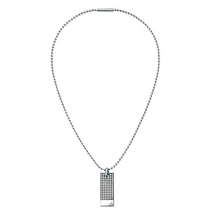 Calvin Klein men's division necklace - Product number 8888574