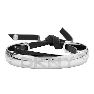 DKNY ladies' stainless steel logo bangle - Product number 8888612