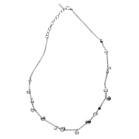 DKNY stainless steel drop necklace