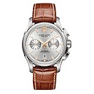 Hamilton men's chronograph leather strap watch - Product number 8889996