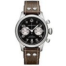 Hamilton men's brown strap chronograph watch - Product number 8890714