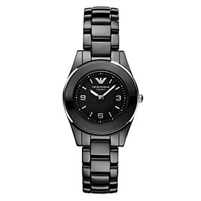Emporio Armani Ceramica black bracelet watch - Product number 8890846