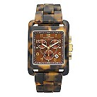 Michael Kors ladies' tortoise shell chronograph watch - Product number 8891133