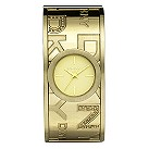 DKNY ladies' gold-plated bangle watch - Product number 8891710