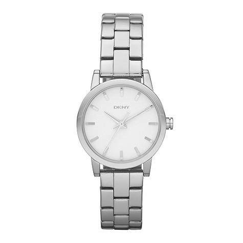 DKNY ladies' stainless steel bracelet watch
