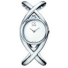 Calvin Klein Enlace stainless steel crossover watch - Product number 8893683