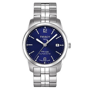 Tissot men's blue bracelet watch - Product number 8893772