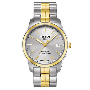 Tissot men's two tone bracelet watch - Product number 8893799