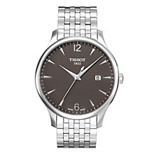 Men's Tissot stainless steel bracelet watch - Product number 8893853