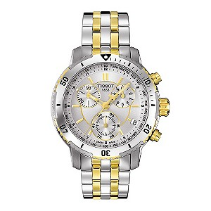Tissot men's two colour bracelet watch - Product number 8894175