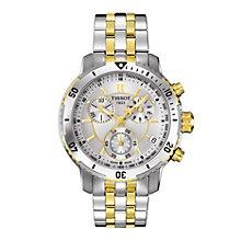 Tissot men's two colour bracelet watch - Product number 8894175